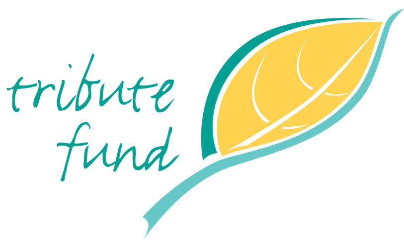 Tribute Funds yellow leaf logo