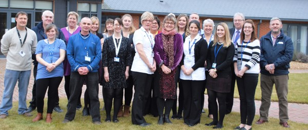 a group of Hospice staff