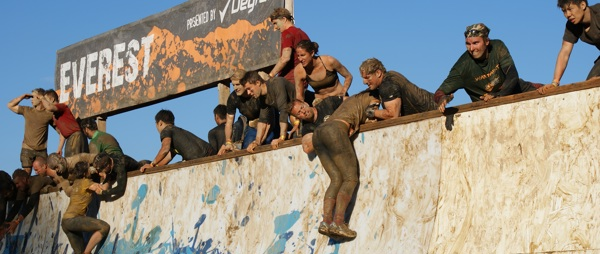 Tough Mudder Wall