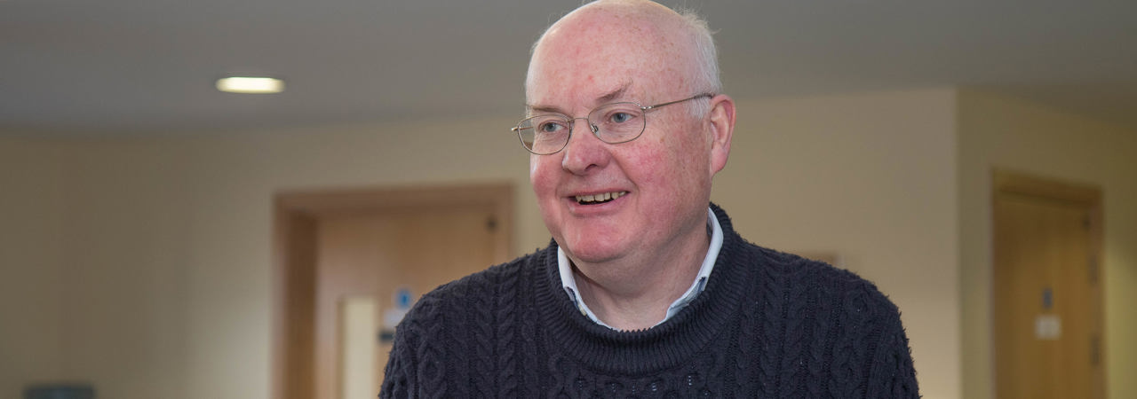 A photo of Trustee Dr Peter Coates