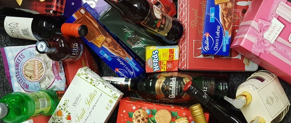 a selection of christmas treats