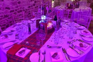 Pentney Abbey Winter Ball table