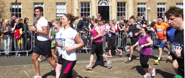 Runners at the Great East Anglian Run