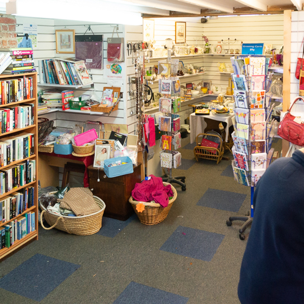 Snettisham shop interior