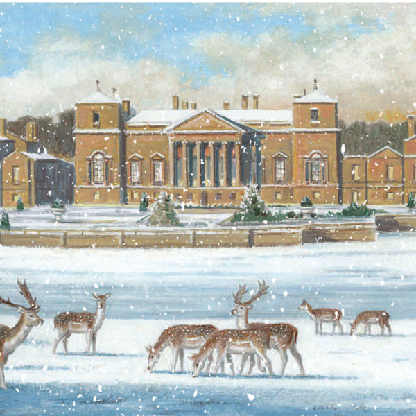 Holkham Hall Christmas Card