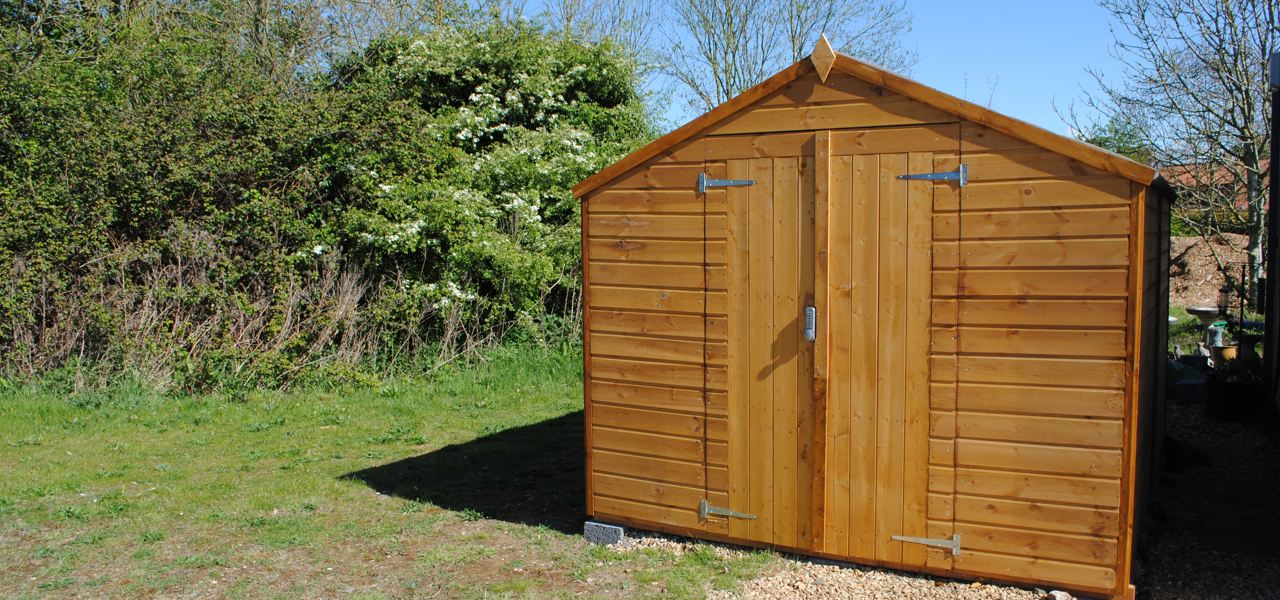 a shed funded by Tesco