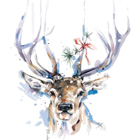 Stag: Christmas Cards