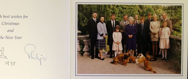 Rare Royal Christmas cards to be auctioned in aid of The Norfolk Hospice