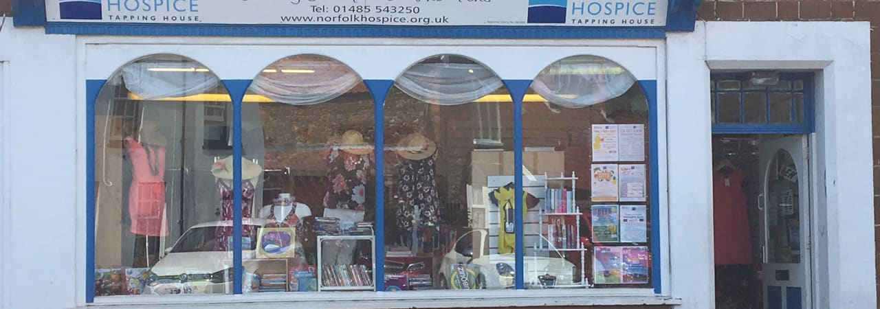 Snettisham shop front